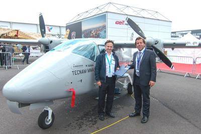 Aircraft Handover at the Dubai Airshow