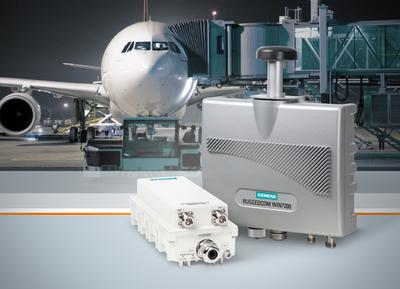 Siemens paves the way for secure high-speed wireless networks in airports