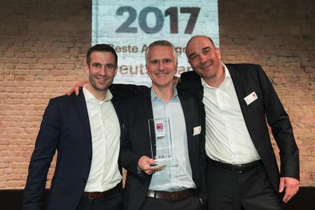 Preisverleihung Great Place to Work 2017 Deutschlands Beste Arbeitgeber