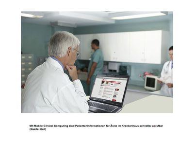 Dell bietet mobile Healthcare-Lösung für Krankenhäuser