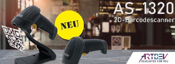 ARTDEV AS-1320 - 2D-Barcodescanner