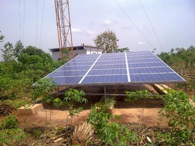 Delta Hybrid Power Solution for Togocel