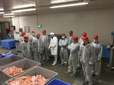 Betriebsbegehung bei Westfleisch SCE mbH