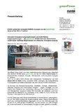 [PDF] Pressemitteilung:  KUHSE präsentiert kompakte BHKW-Lösungen aus der green Power Serie auf der ISH in Frankfurt