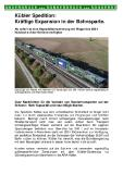 [PDF] Pressemitteilung: Kübler Spedition: Kräftige Expansion in der Bahnsparte