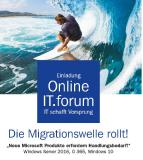 "CEMA Online IT.forum ""Die Migrationswelle rollt"""