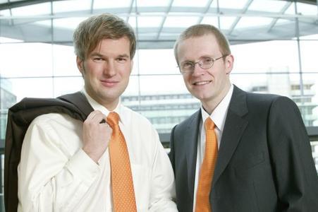 Ingo Mierswa und Ralf Klinkenberg, die Geschäftsführer von Rapid-I