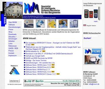 mwm.de - Die alte Internetseite