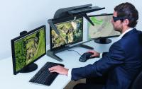 """Der innovative passive 3D-Stereo Monitor 3D PluraView ist ab sofort auch in 24"""" FHD Displaygröße mit Full-HD Auflösung erhältlich"""