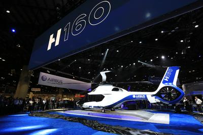 The future is now! Airbus Helicopters unveils its all-new H160 as the benchmark for medium-class rotorcraft