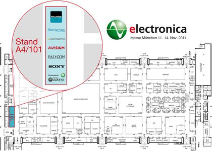 FRAMOS at the Electronica 2014