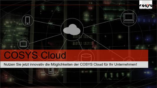 COSYS Cloud Software