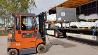 Kunde Sun Maskin & Service AB in Karlstad, Schweden nimmt seine MA STAR triple safety***** Lieferung entgegen
