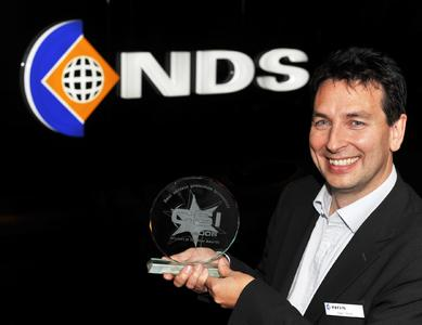 Nigel Smith (NDS) receives the CSI Award