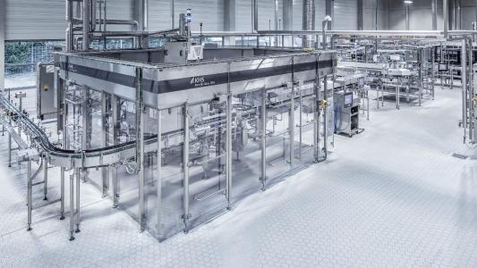 Eder & Heylands has invested in two bottling lines from KHS that include the resource-saving Innofill Glass DPG glass bottle filler.