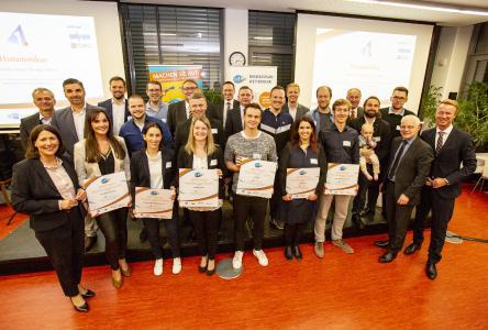 Sieger Saarland und Rheinland Pfalz, Businessplanwettbewerb 1,2,3 GO 2019