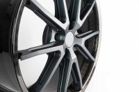 Premiere of the exclusive homologated carbon car wheel from thyssenkrupp Carbon Components