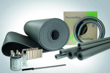 Schon immer sehr vielseitig einsetzbar: Das ThermaSmart Sortiment wurde jetzt um ein Brandschutzsystem für nicht brennbare Rohrleitungen erweitert / Fotonachweis: Thermaflex/txn