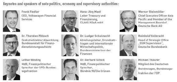 Keynote Speaker aus Wirtschaft, Politik und Aufsicht