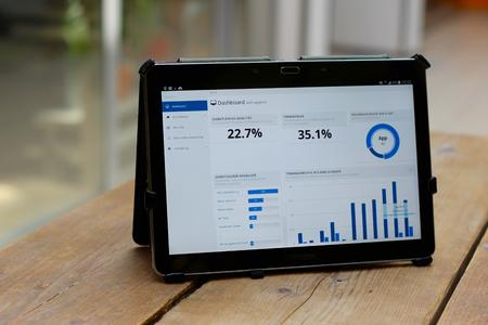 PTSGroup: Smart Work Control mobil auf dem Tablet