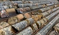 Bohrkerne vom Carmacks-Projekt; Foto: Granite Creek Copper