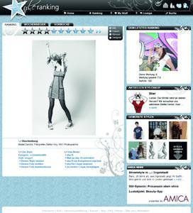 Screen styleranking und AMICA Online