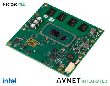 Avnet Integrated stellt erste COM Express™ Modulfamilie mit Intel® Core™ Prozessoren der 11. Generation vor