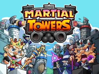 Physics-Artillery-Spiel 'Martial Towers' ab sofort in den App Stores