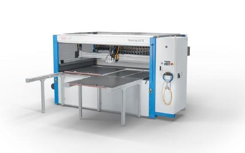 The new dispensing cell 3E is the place, plug & work solution for foam sealing, gluing and potting