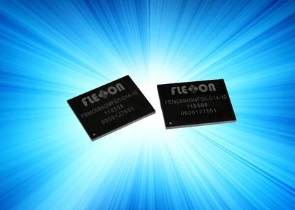 Hochintegrierte eMMC NAND Flash Lösung von Flexxon