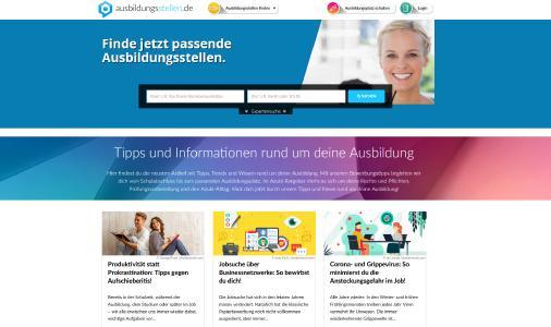 Ausbildungsstellen.de - Die aktuelle Ausbildungsbörse 2020