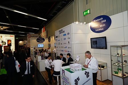 Messestand der Atlantik Elektronik GmbH
