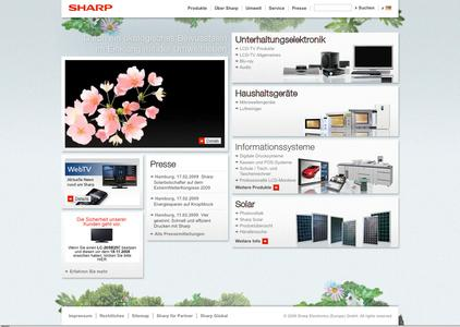 "Sharp launcht Web-Kampagne ""Japanese Perfection"""
