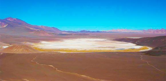 Incahuasi Salar in Argentinien; Quelle: AIS Resources