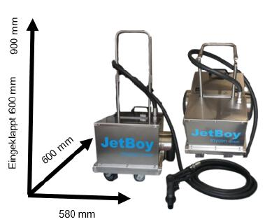 JetBoy - the new multifunctional device from mycon GmbH