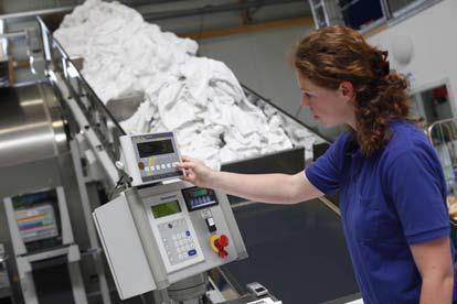Das neu entwickelte Nachhaltigkeitsbewertungssystem Hohenstein Sustainable Laundry (kurz: HSL) ist speziell auf die Wäschereibranche ausgerichtet / © Hohenstein Institute