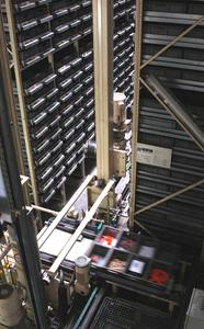 Vier Gassen für die Produktionsversorgung: Hochregallager von Knauf