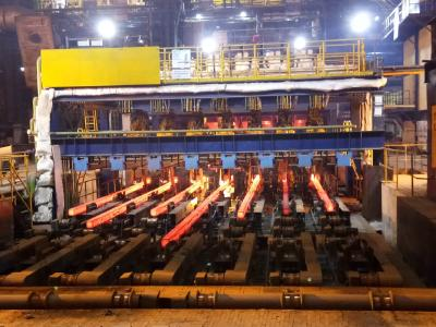 High-speed seven-strand combi-caster in operation at JSPL Angul, India