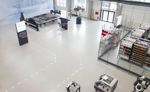 The Grenzebach World combines exhibits and innovations from all business units of Grenzebach under one roof at the headquarters in Hamlar.