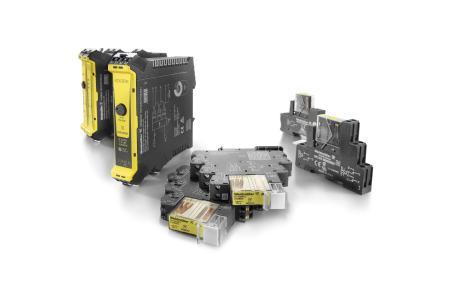 Für die Verarbeitung sicherheitsgerichteter Signale hat Weidmüller speziell  entwickelte Sicherheitsrelais im Programm bis SIL3 gemäß EN 61508 / Bildquelle: Weidmüller