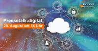 ecotel Pressetalk:digital 20. August 20212 um 14:00 Uhr