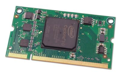 System-on-Module im SO-DIMM-Format mit Intel Cyclone 10 LP