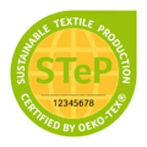 STeP (Sustainable Textile Production) by OEKO-TEX® ist ein unabhängiges Zertifizierungssystem, mit dem Marken, Handelsunternehmen und Hersteller der textilen Kette ihre Leistungen in Bezug auf nachhaltige Produktionsbedingungen anschaulich und transparent belegen und kommunizieren können. Die Zertifizierung ist für Produktionsbetriebe aller Verarbeitungsstufen von der Faserherstellung über die Spinnerei und Weberei/Strickerei bis hin zu Veredlungsbetrieben und Konfektionären möglich © OEKO-TEX®