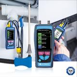 The world's smallest flue gas analyser with TFT colour display