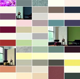 Innenräume selbst gestalten mit der SPECTRUM_ARENA: Das Beispiel zeigt Farbgebungen auf  Basis der CLASSIC-Gestaltungskollektion. Foto: Caparol Farben Lacke Bautenschutz