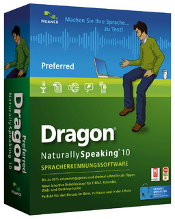 Dragon NaturallySpeaking 10 Preferred