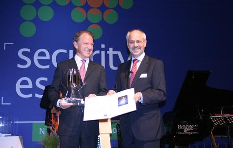 Kaba gewinnt SECURITY INNOVATION AWARD in Gold