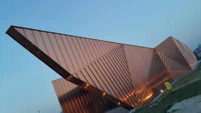 Nachhaltige Baumaterialien wie Kupfer zeichnen sich durch eine gute Wiederverwertbarkeit aus.