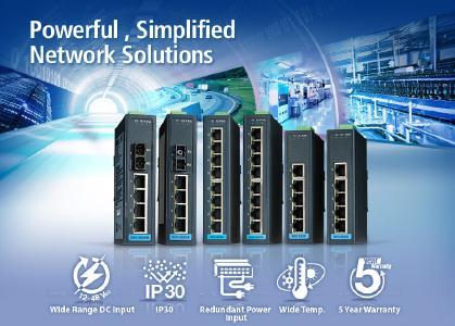 Unmanaged, Managed Switch-EKI-2525-2526-Netzwerk-Anwendung