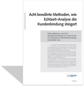 Das neue Whitepaper von Altitude Software